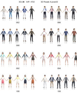 DVD-download-3Dpeople-Animation-asian