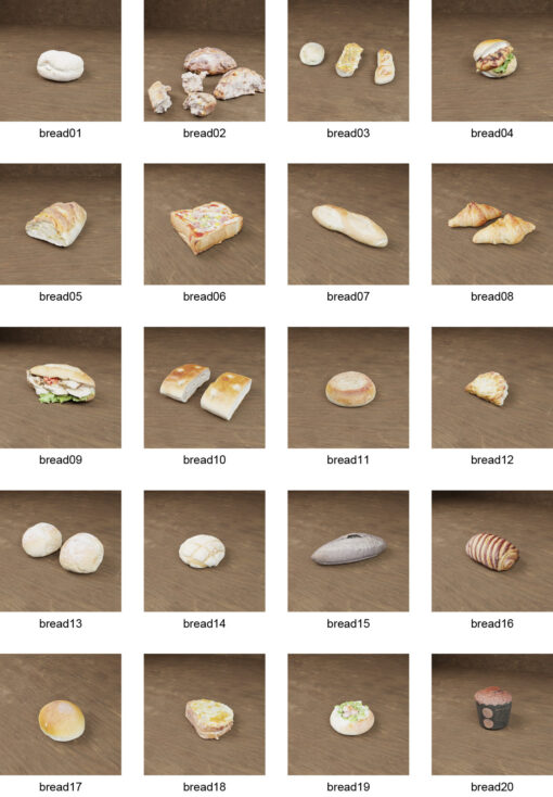 free-3Dmodel-bread