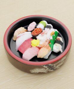寿司フリー3Dモデル-寿司にぎりセット2