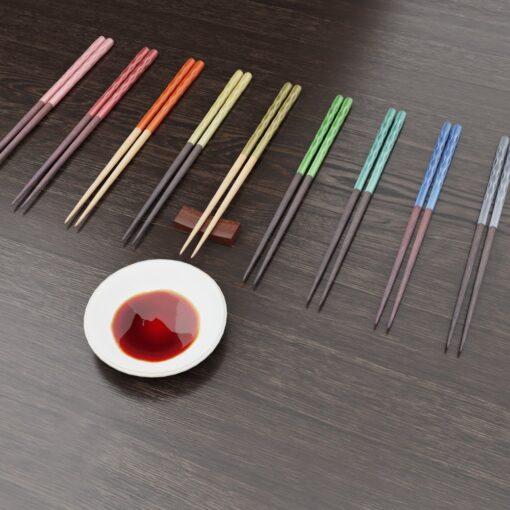 3Dモデル-箸と醤油