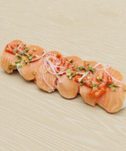 寿司フリー3Dモデル-サーモン寿司