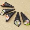 寿司フリー3Dモデル-手巻き寿司