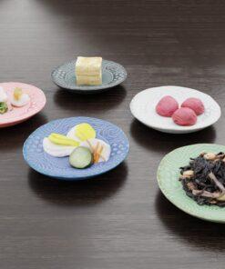 3Dモデル-模様小皿
