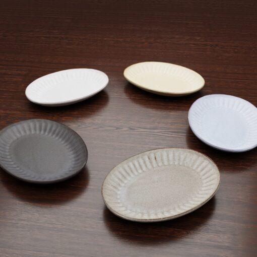 3Dモデル-楕円小皿