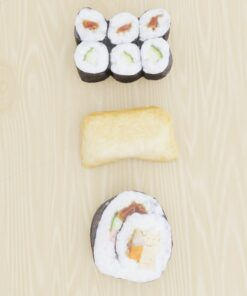 寿司フリー3Dモデル-巻き寿司といなり