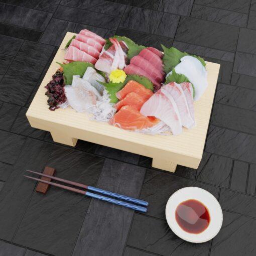 3Dモデル-寿司盛台