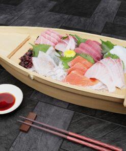 寿司フリー3Dモデル-刺身船大盛り