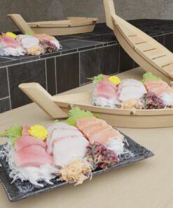 寿司フリー3Dモデル-刺身盛り
