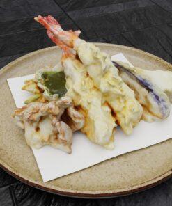 和食フリー3Dモデル-天ぷら