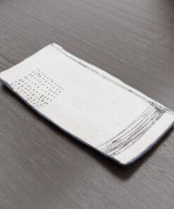 3Dモデル-長方形アート皿
