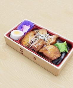 和食フリー3Dモデル-角煮弁当