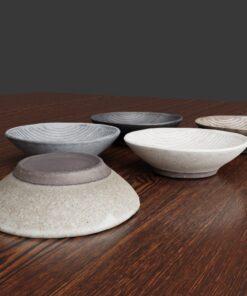 3Dモデル-しま模様ボール皿