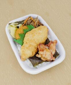 和食フリー3Dモデル-のり弁当