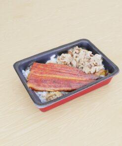 和食フリー3Dモデル-うなぎ牛丼