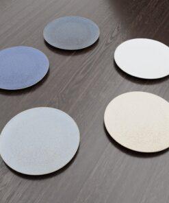 3Dモデル-平まる皿