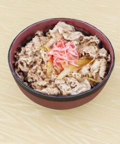和食フリー3Dモデル-牛丼