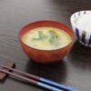 和食フリー3Dモデル-おみそ汁