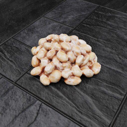 和食フリー3Dモデル-納豆