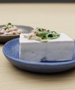 和食フリー3Dモデル-豆腐にしょうゆ