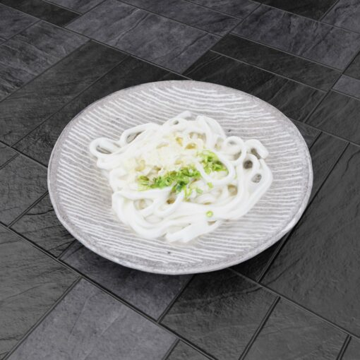 和食フリー3Dモデル-うどん