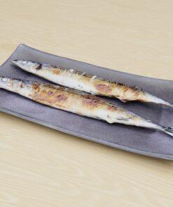 和食フリー3Dモデル-さんま