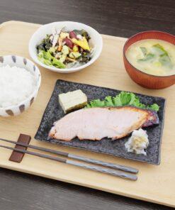 和食フリー3Dモデル-朝のごはん