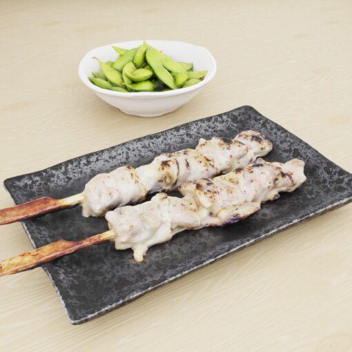 和食フリー3Dモデル-焼き鳥