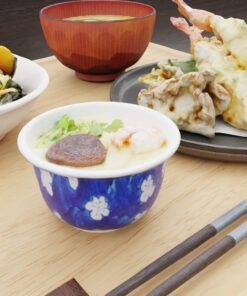 和食フリー3Dモデル-茶碗蒸し