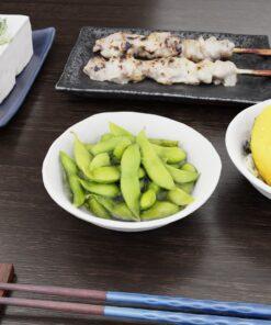 和食フリー3Dモデル-枝豆