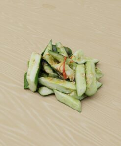 和食フリー3Dモデル-南蛮きゅうり