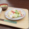 和食フリー3Dモデル-ハムエッグ